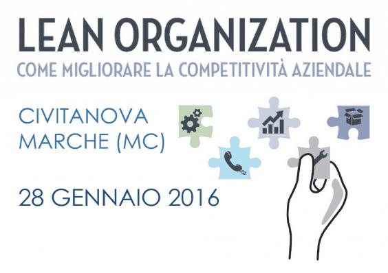 GC&P nelle Marche, con la Lean Organization. Workshop gratuito in collaborazione con DelMOform