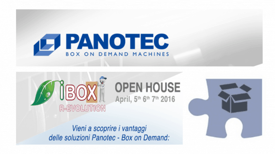 BOX ON DEMAND, per imballaggi snelli! Open House di Panotec per scoprire quelli adatti al tuo business