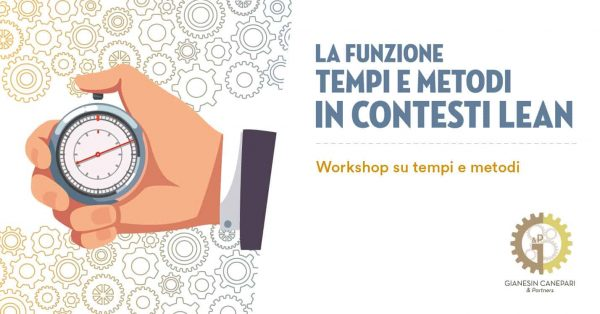 Workshop: Tempi e Metodi