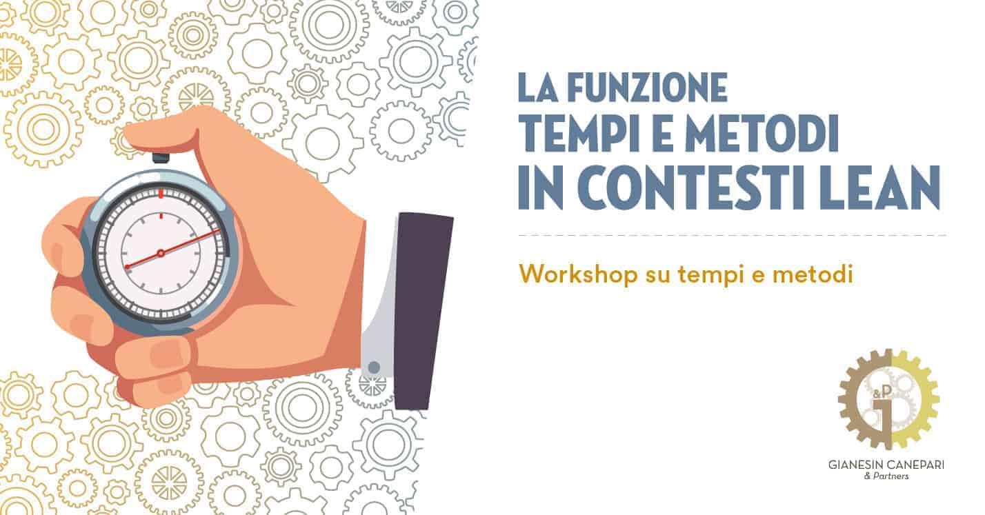 Workshop: Tempi e Metodi